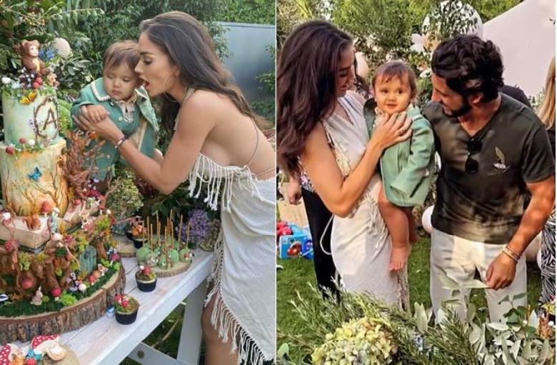 Amy Jackson Celebrates Son Andreas' 1st Birthday With An Enchanted Garden Theme Birthday Party
