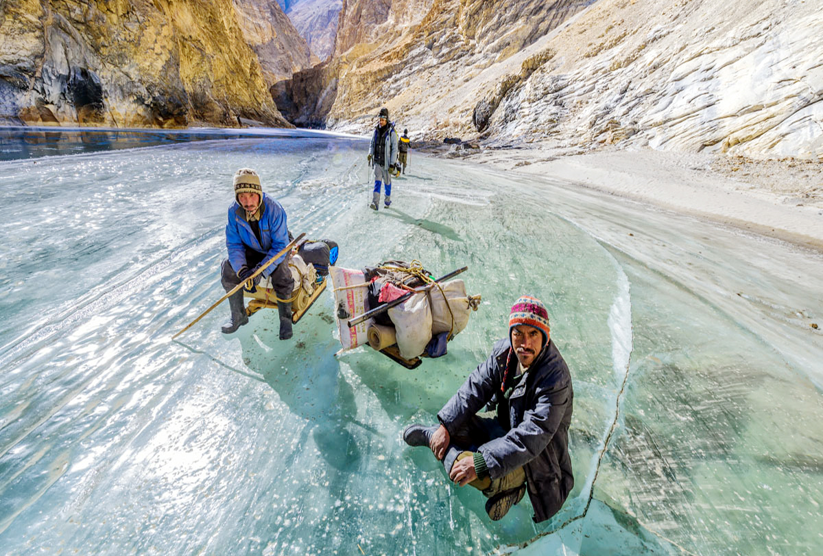 Know about the adventure of Chadar Trek