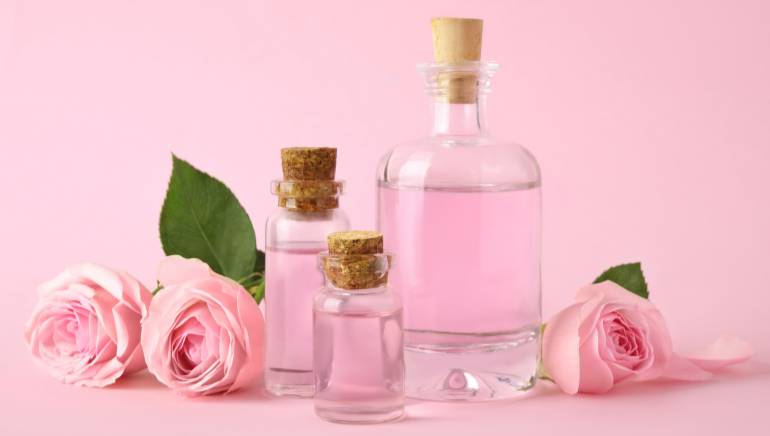All the beauty benefits of rosewater
