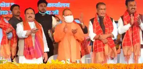 JP Nadda inaugurates newly built BJP regional office building in Varanasi