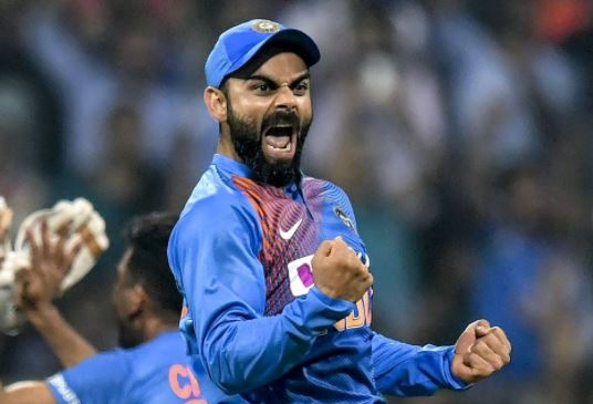 As a captain Virat kohli would be on the verge of a world record