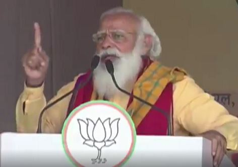 BJP worker fainted at Assam rally, PM Modi sent his PMO team of doctors