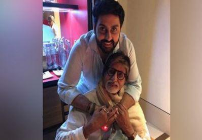 Amitabh Bachchan wishes son Abhishek Bachchan birthday
