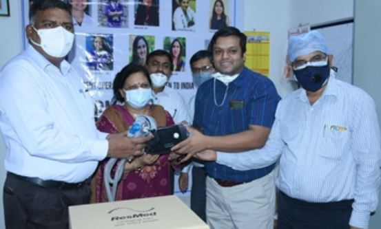 Doctor Sisters of Kanpur sent mini ventilators from US