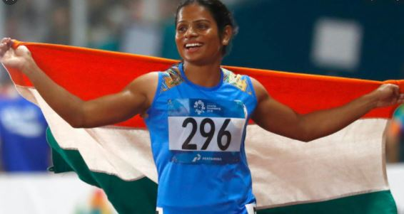 Another proud moment for Indian women- Dutee Chand  being nominated for BBC Indian Sportswoman of Year award.CM Congratulated her.