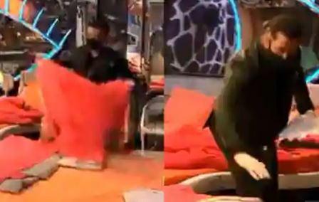 Bigg Boss 14: Salman Khan makes Rakhi Sawant's bed as Nikki refuses to do so