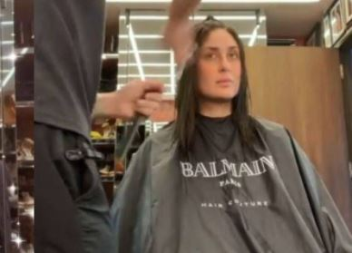 Kareena Kapoor Khan Goes For Hair Transformation, watch her Viral Video
