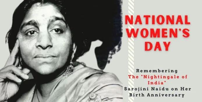 National Women's Day 2021: Political leaders remember Sarojini Naidu