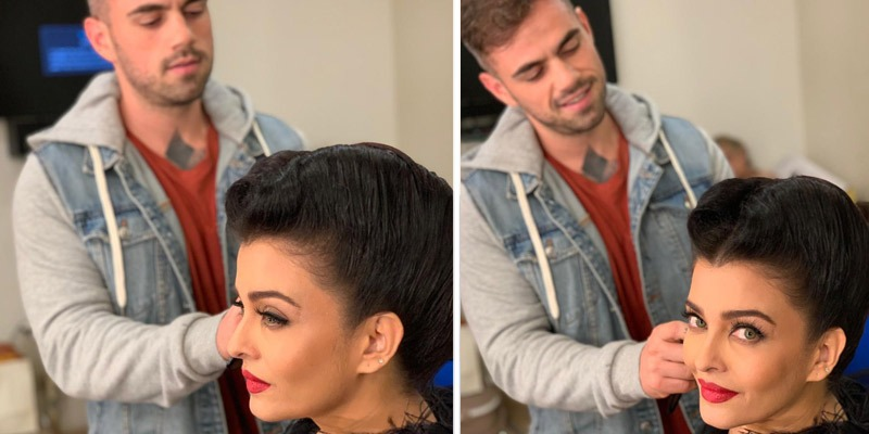 Now Celebrity makeup-hairstylist Florian Hurel to team up with Aishwarya Rai Bachchan.