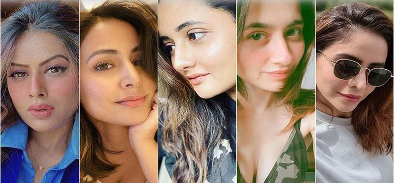 TV actress hotness shows on instagram this week - watch Nia,Nina,Rashmi Sanjeeda,Aamna sharif