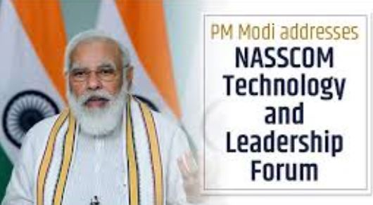 PM Modi addresses NASSCOM Technology and Leadership Forum