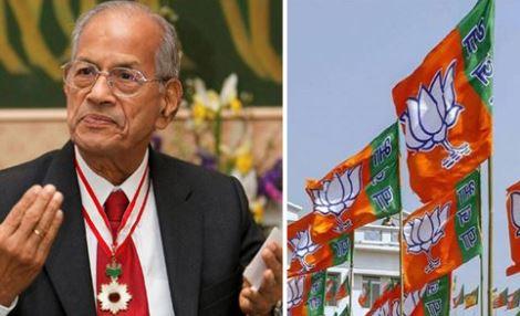 I am joining the BJP, 'Metroman' E Sreedharan