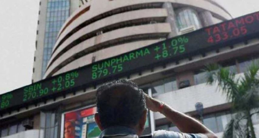 The markets cheered the announcements made by finance minister Sensex jumps 850 points