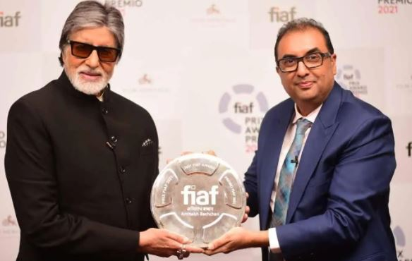 Amitabh became the first Indian actor to receive the International federation of film archives award