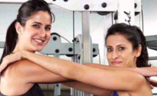 Watch workout session of Katrina kaif with her trainer yashmeen