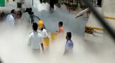 Major accident in Nashik, Maharashtra, 22 people died due to oxygen tank leaking in hospital