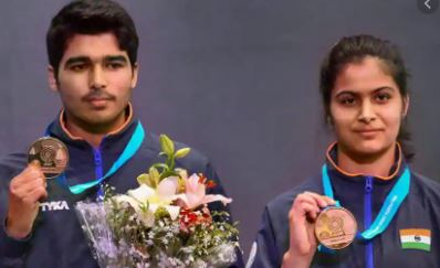 India on target: wins gold 10m air rifle mixed team in IFFS world cup