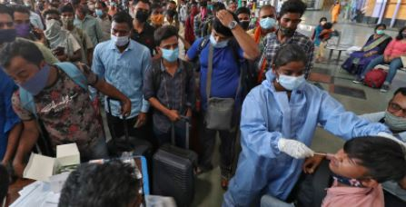 Corona's havoc: For the first time in the country, 3.32 lakh new cases came out in 24 hours, 2263 died