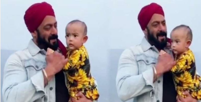 Salman's adorable dance video with niece ayat