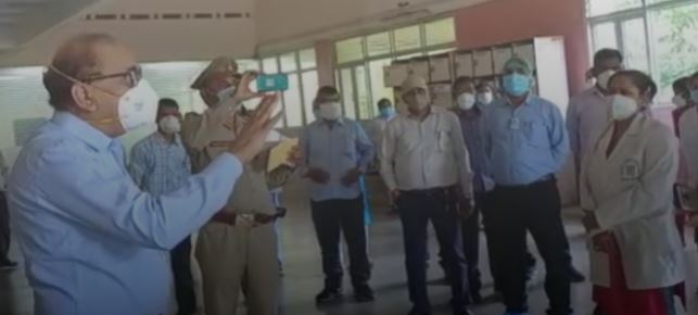 Lucknow: Lab technician's wife posted in SGPGI dies due to lack of treatment. SGPGI employees Boycott the work
