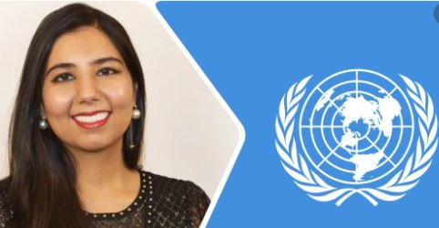 Arora Akanksha an Indian running for United Nation chief