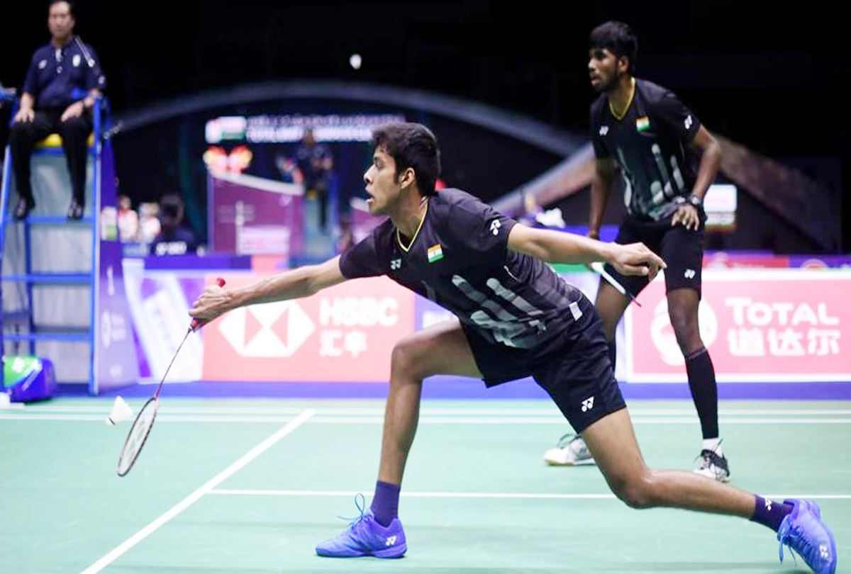 Satwiksairaj Rankireddy and Chirag Shetty create history at the Thailand Open