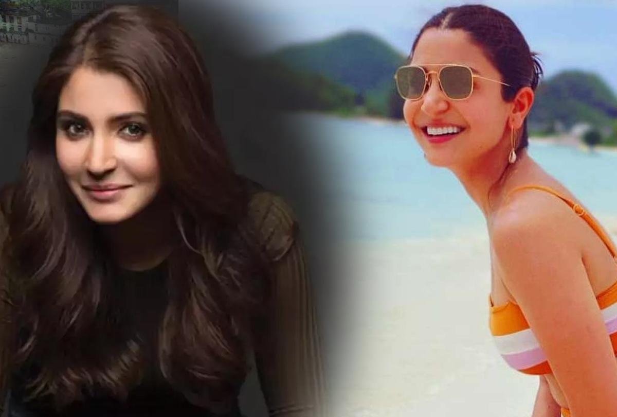 Anushka in bikini sets fire to the beach-