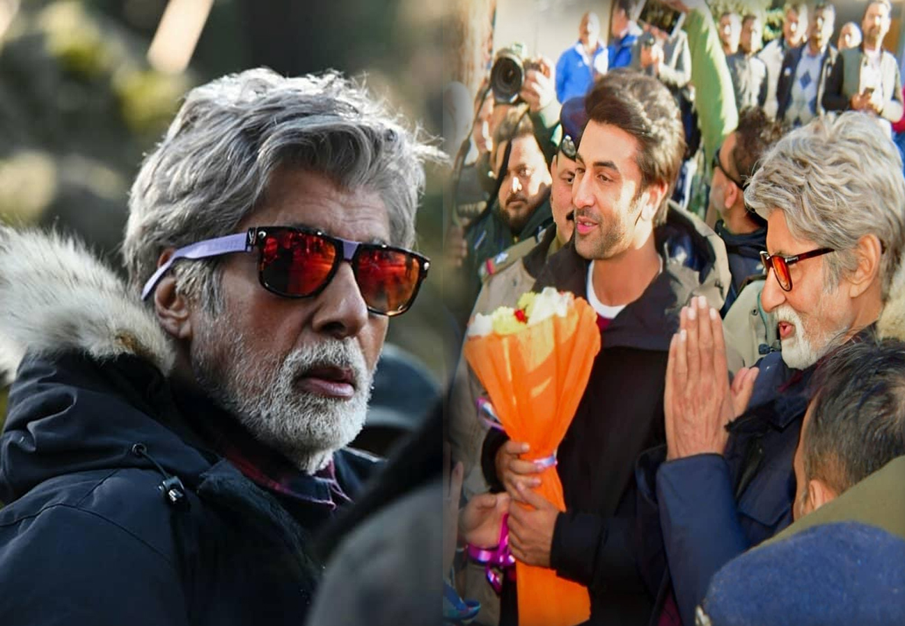 Amitabh Bachchan and Ranbir Kapoor shoot in low temperature for 'Brahmastra'