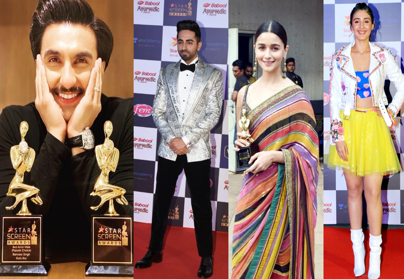 Star Screen Awards 2019: Ranveer, Ayushmann, Alia win big, Here is Winners list