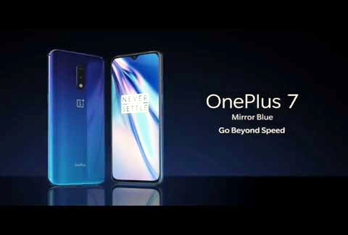 OnePlus 7 Mirror Blue colour :  will go on sale at on July 15