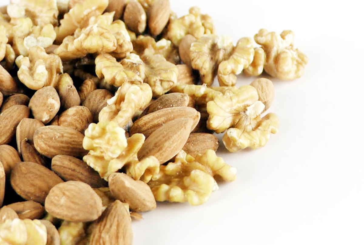 Research: Walnuts -Almonds will reduce weight by eating