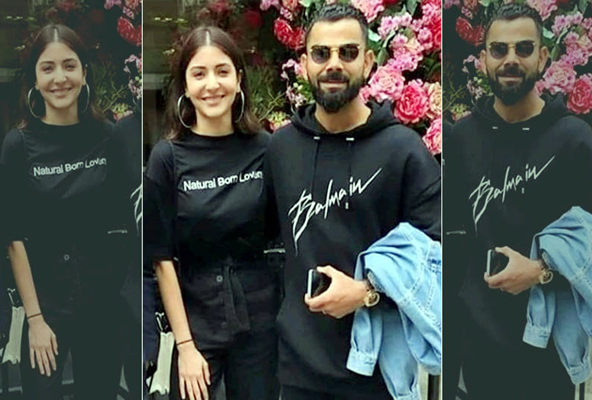 Kohli and Anushka's t-shirts are sold with a price tag of Rs 7500 and 30,000