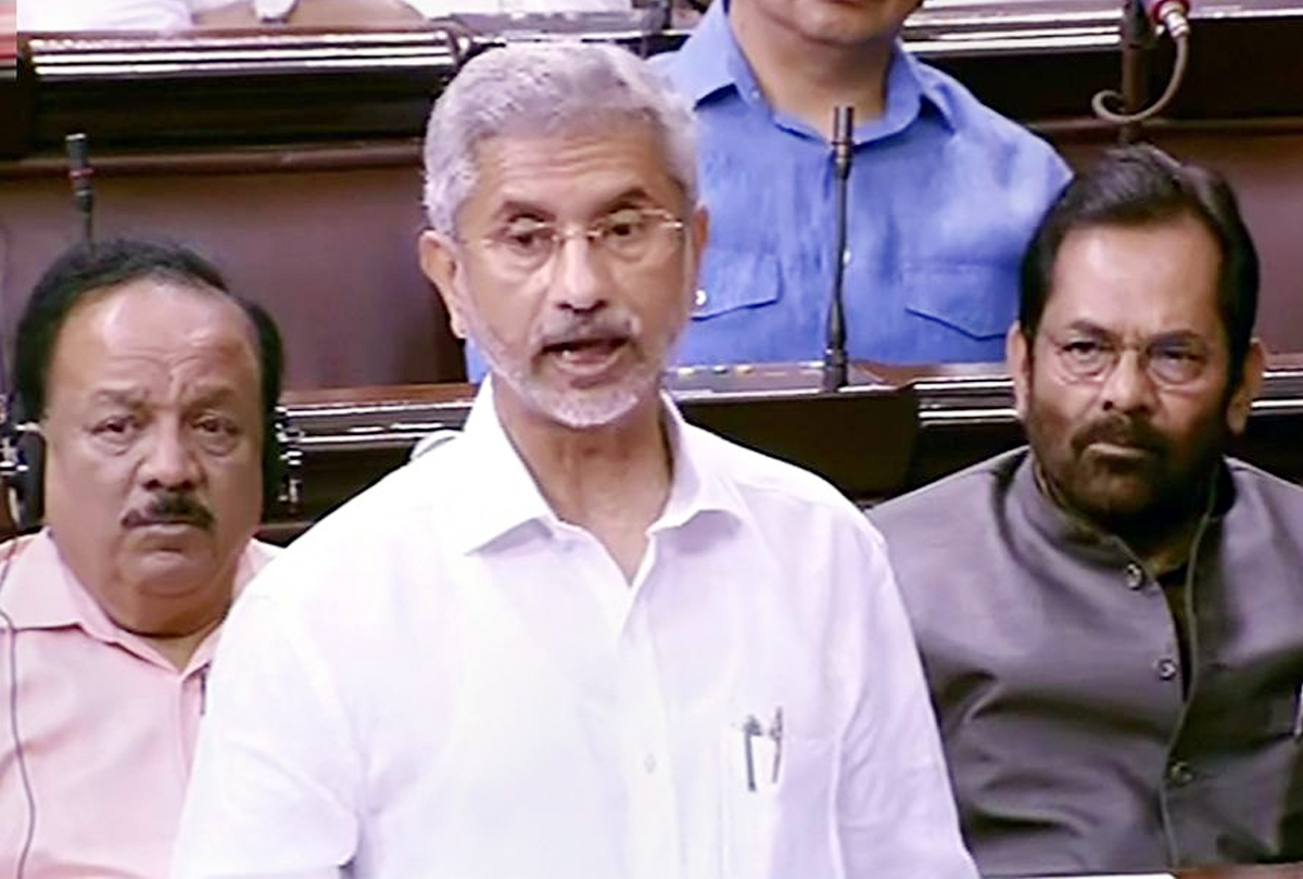 Prime Minister has not asked Trump any mediation on Kashmir, said Jaishankar in Parliament