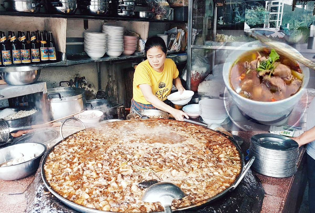 A family restaurant in Bangkok is famous all over the world
