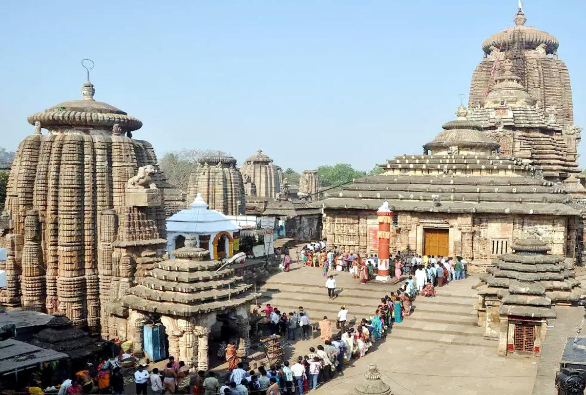 Bhuvneshwar's Oldest hindu Temple  Lingaraj Mandir