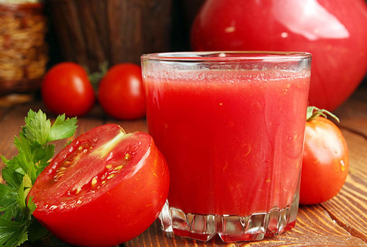 Know the benefits of Drinking Tomato Juice