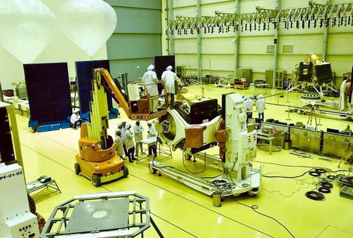 Chandrayaan-2 will be the second lunar mission in the country, India unveils spacecraft