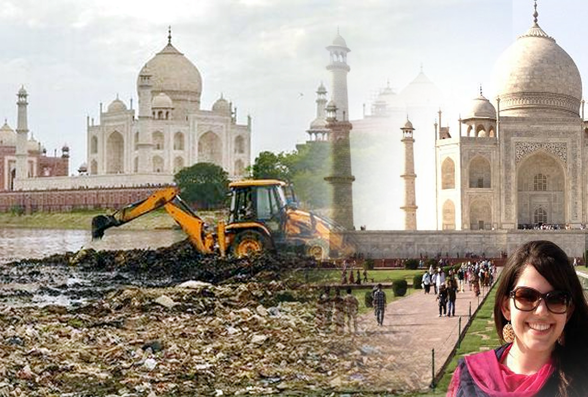 Taj Mahal beautify Project stalled, This is the Reason