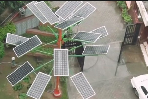 Place Solar Tree in Home, a perfect solution to save electricity needs