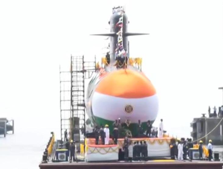 Indian Navy launches submarine 'Vela'