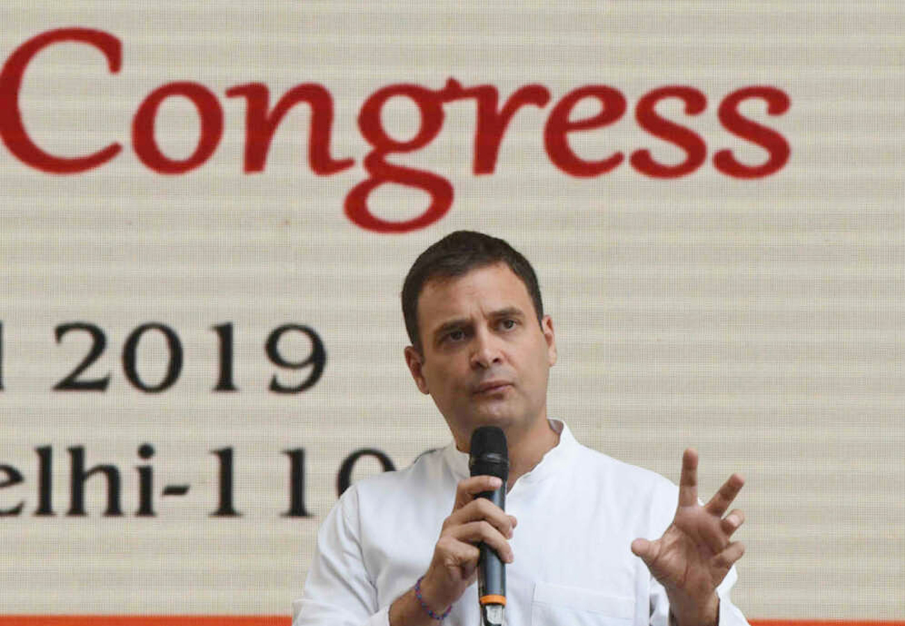 Rahul Gandhi Says Democracy murdered in Maharashtra