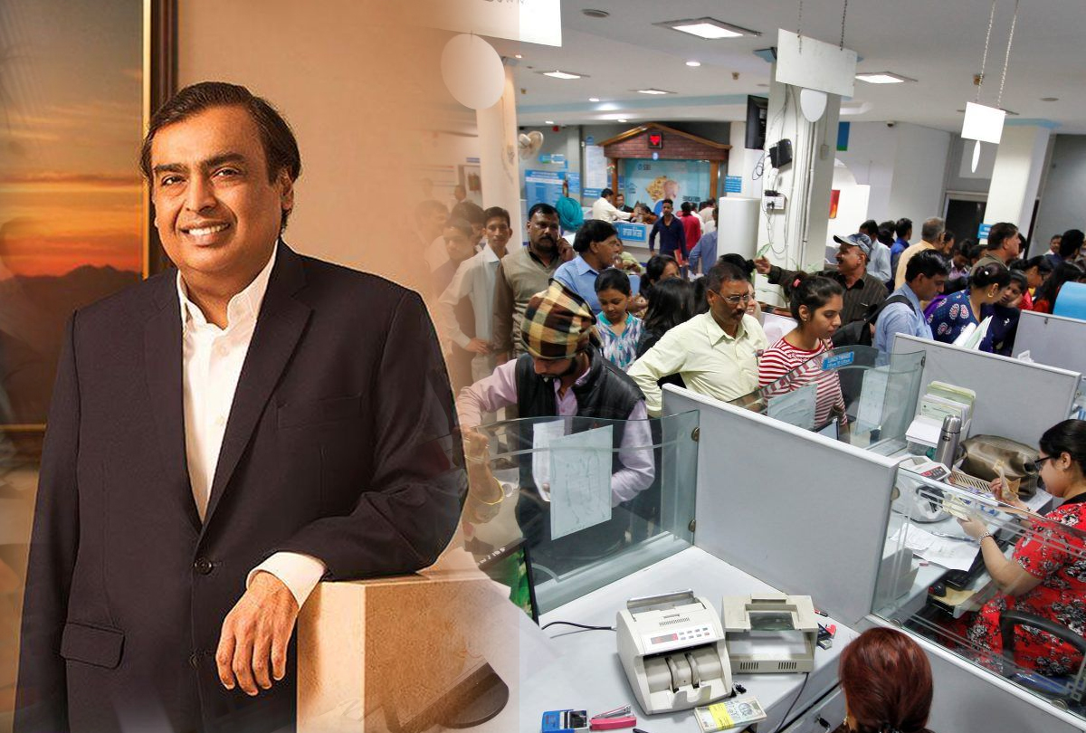 Amazon, Walmart And Mukesh Ambani Will Help Save India's Banks