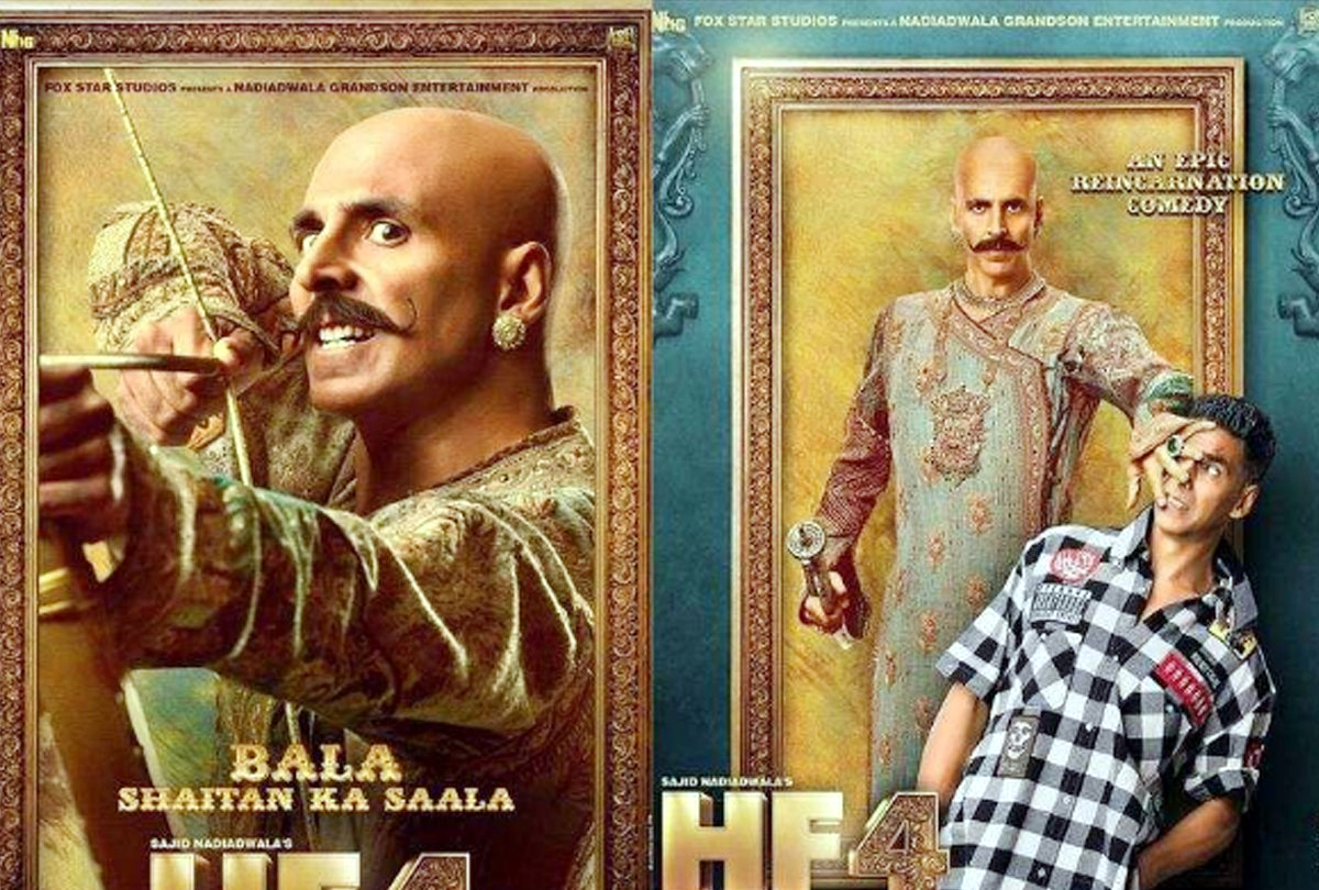 Akshay shares spooky yet funny first look posters of Housefull 4