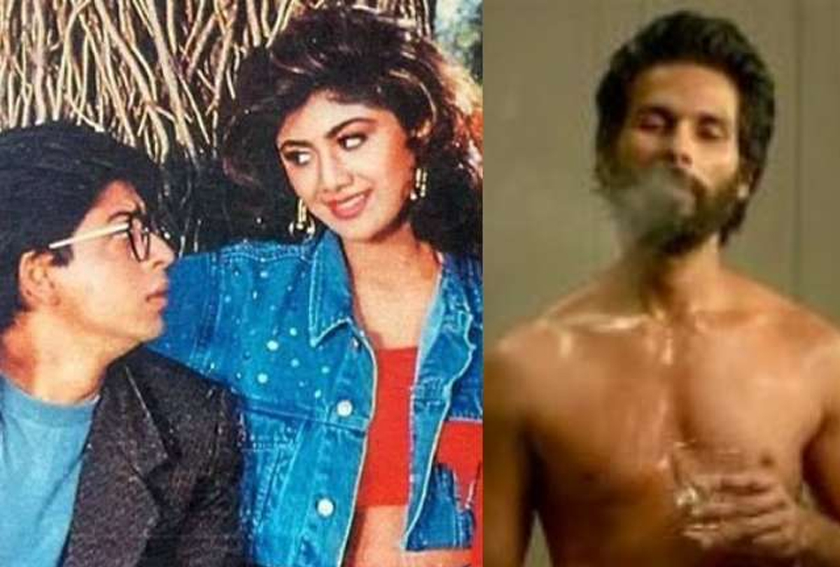 Shahid Kapoor On KABIR SINGH Nobody questioned 'WHEN SRK KILLED SHILPA SHETTY IN BAAZIGAR'
