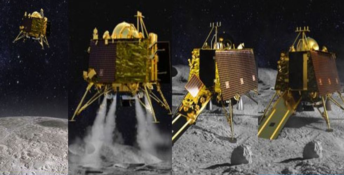 Chandrayaan 2 Vikram lander to make soft-landing on Moon